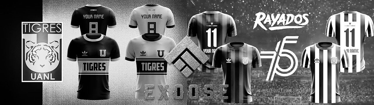Exoose Design: Tigres/Rayados