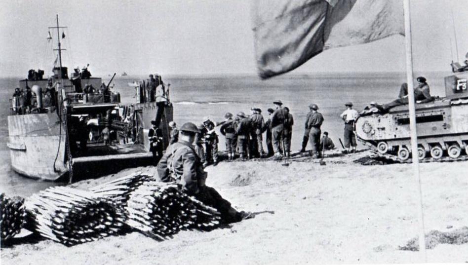 nazi jerman  foto pertempuran dieppe  19 agustus 1942