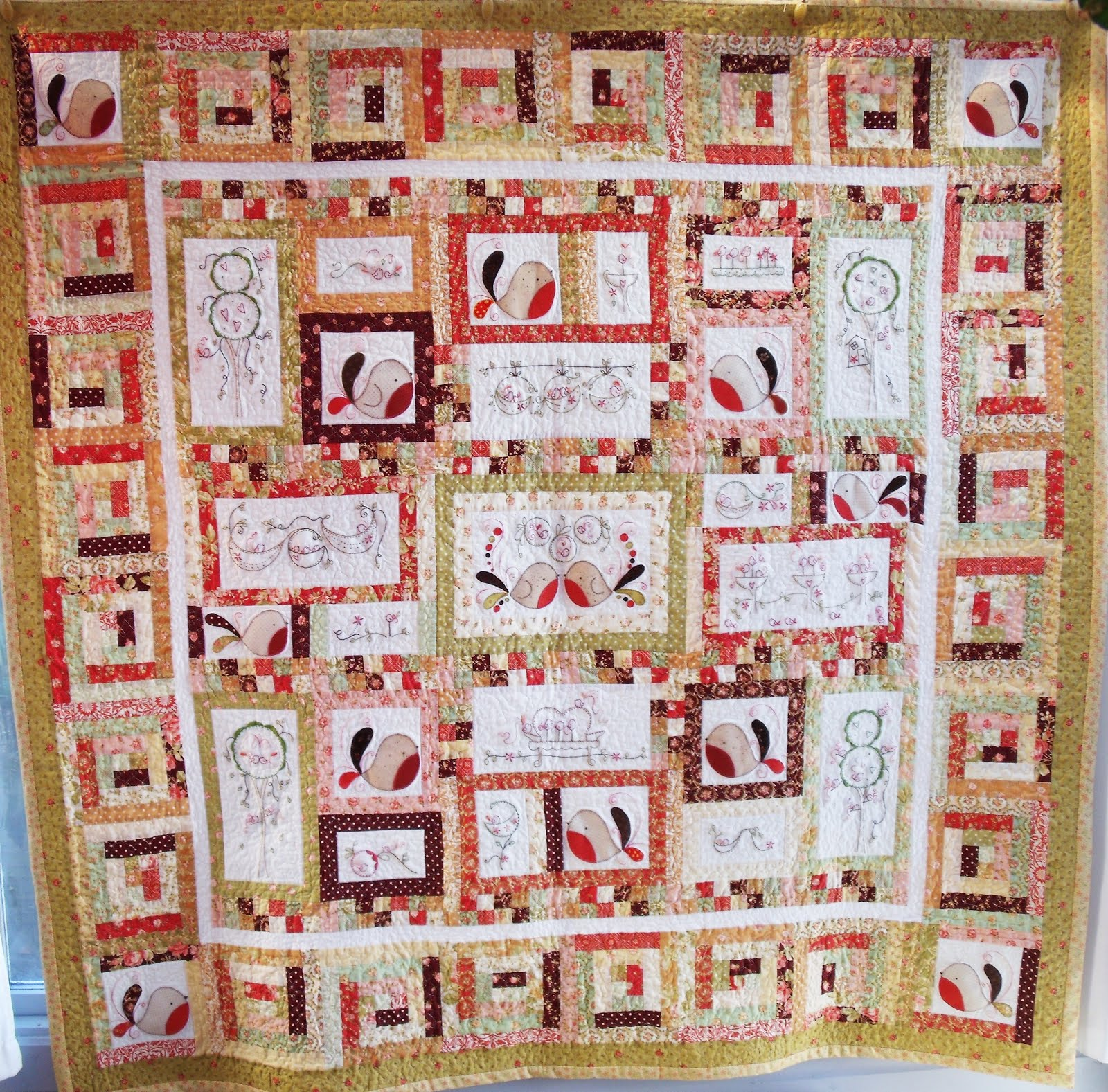 Tail Feathers Quilt