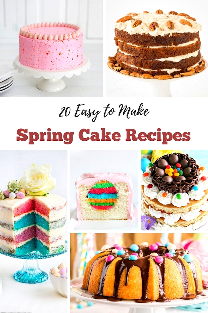 pretty cake recipes for easter