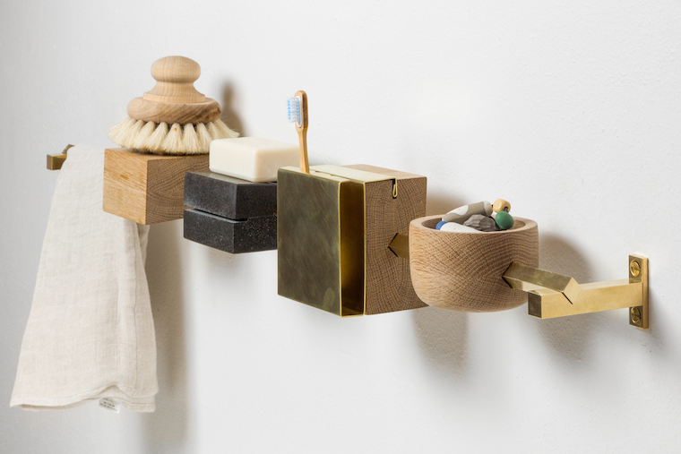 Vm designblogg for Accessoire salle de bain bois