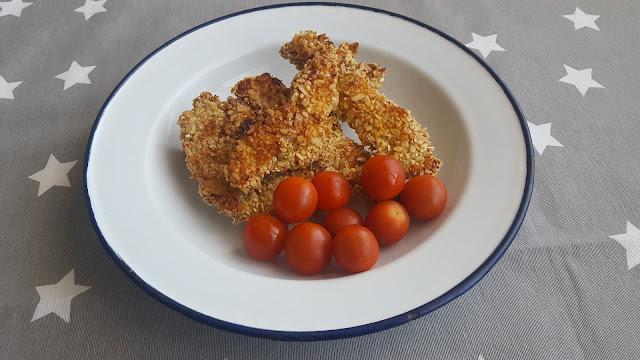 Pollo al horno al estilo crispy