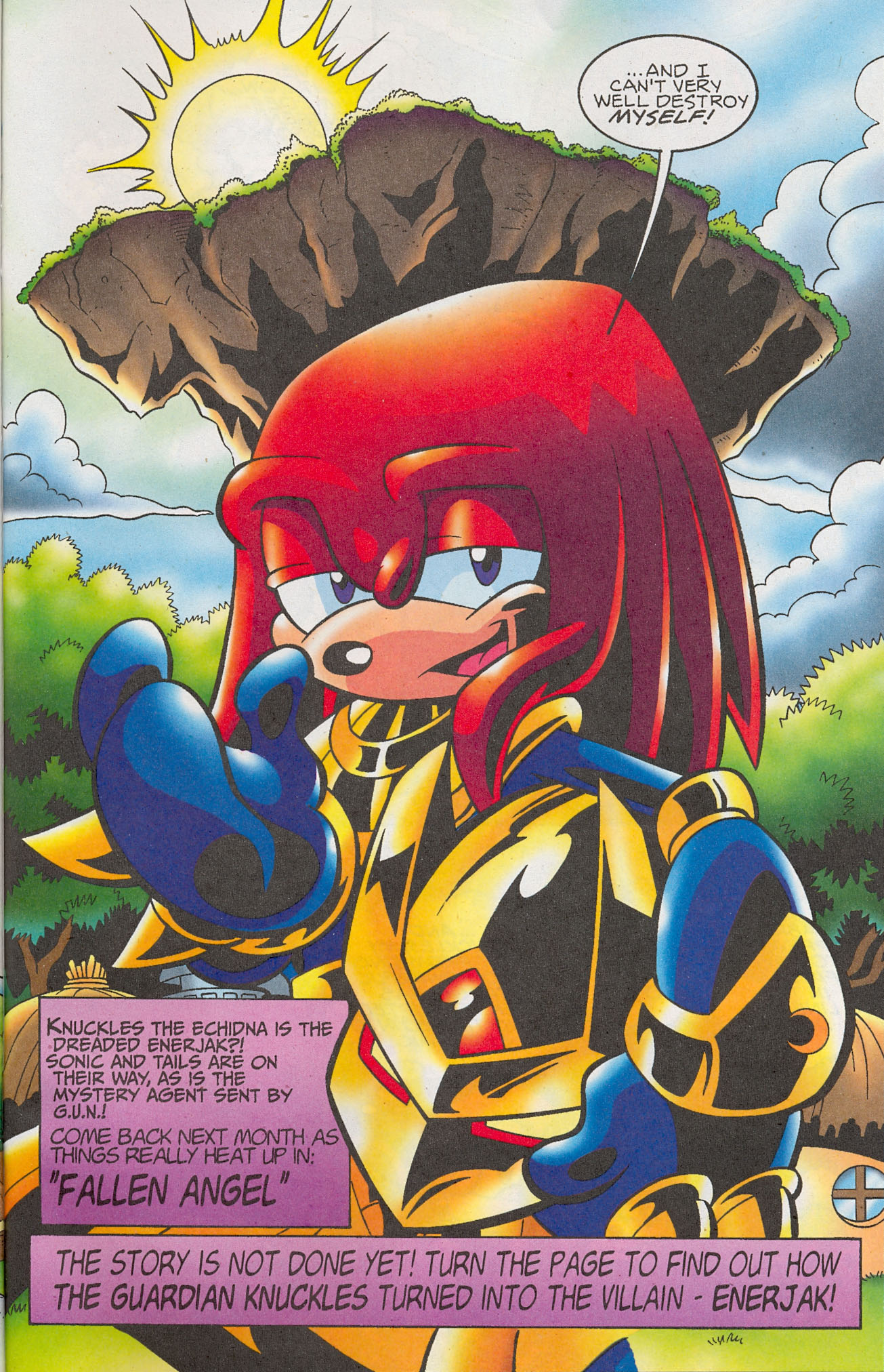 Read online Sonic The Hedgehog comic -  Issue #181 - 18