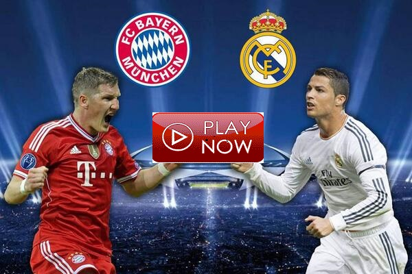 Image result for Real Madrid vs Bayern Munich Live