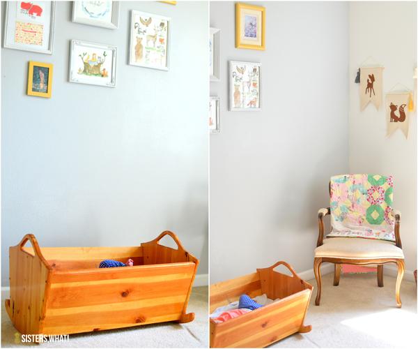 little girl's woodland room