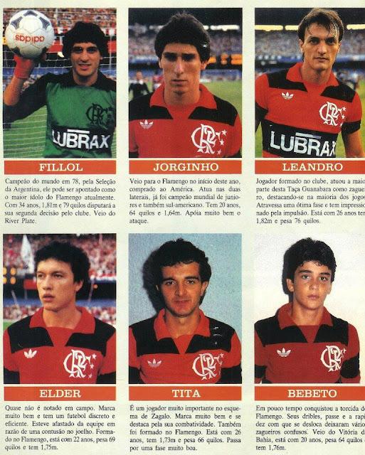 ¿Cuánto mide Bebeto? - Real height Flamengo%2B1984%2Bcar