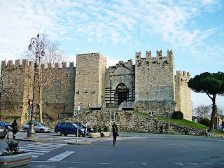 The Castello dell'Imperatore in Prato