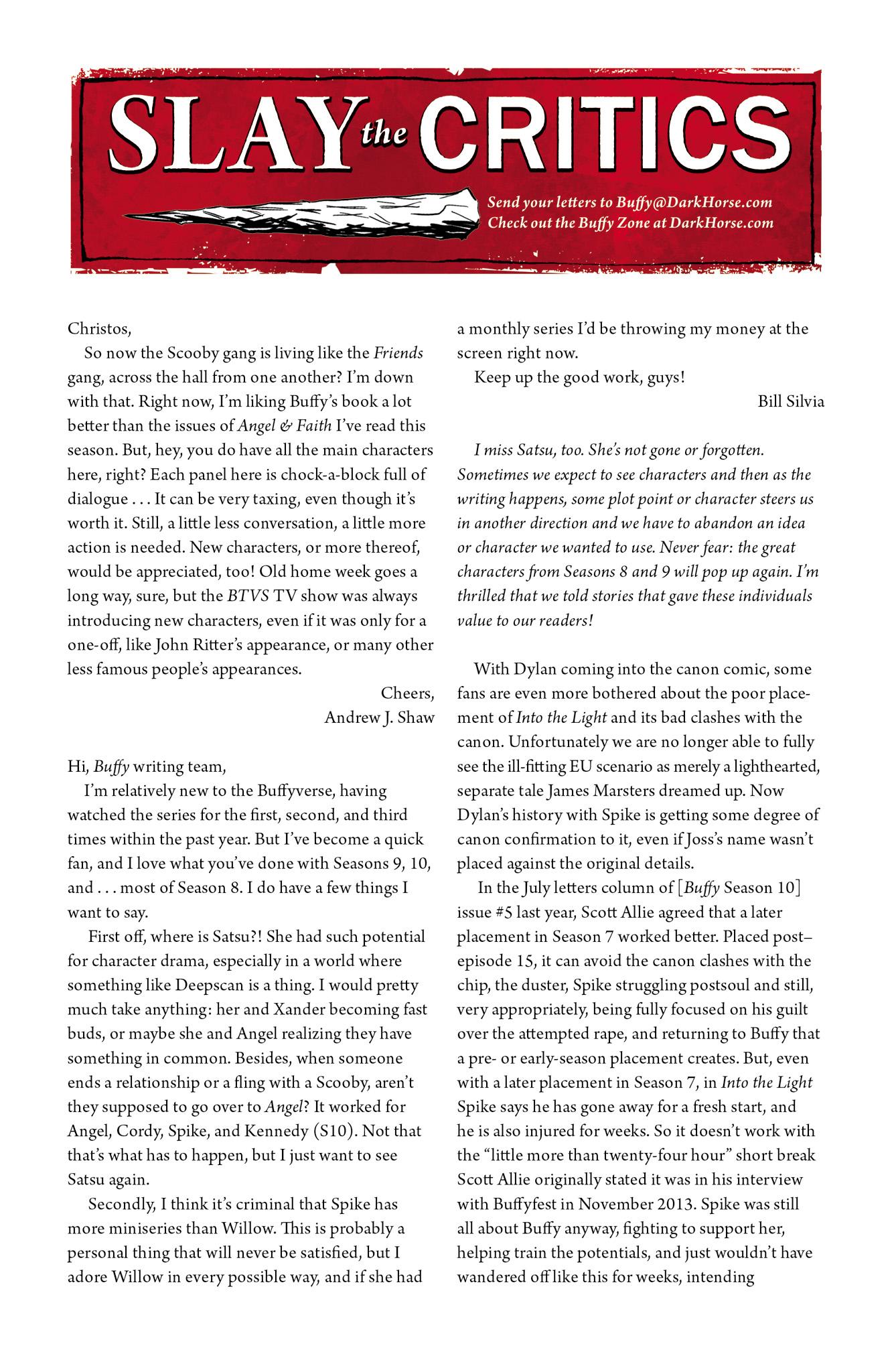 Read online Angel & Faith Season 10 comic -  Issue #13 - 25