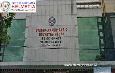 Daftar Jurusan / Program Studi Institut Kesehatan Helvetia Medan