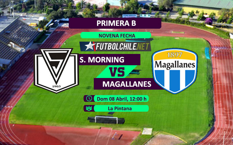 Santiago Morning vs Magallanes - 12:00 h - Primera B - 08/04/18
