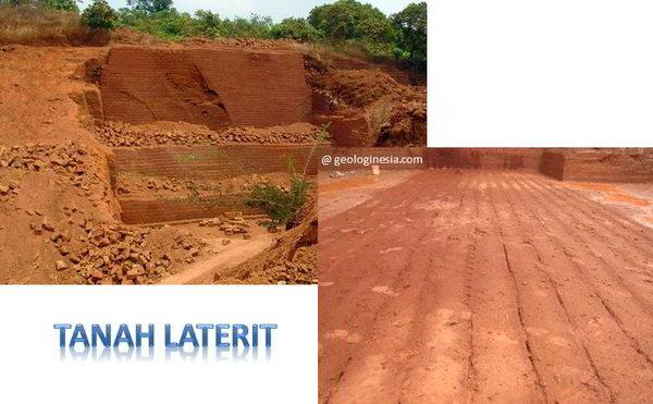 ciri karakteristik tanah laterit