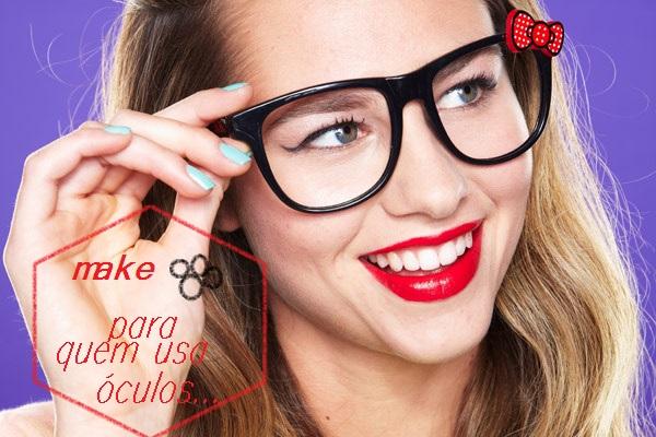 0122907aed683 Bom no post anterior eu mostrei a vocês uma make cílios de boneca  certo!poisé algumas meninas comentaram que acharam super lindo mas por  usarem óculos não ...