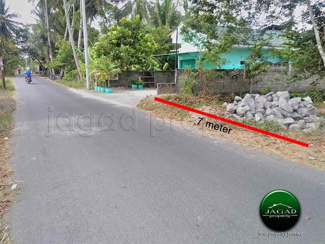 Tanah Akses jalan Lebar dekat Kampus UMY