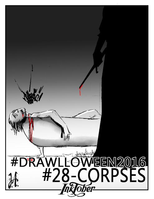 corpses-drawlloween-inktober-lucyowlart