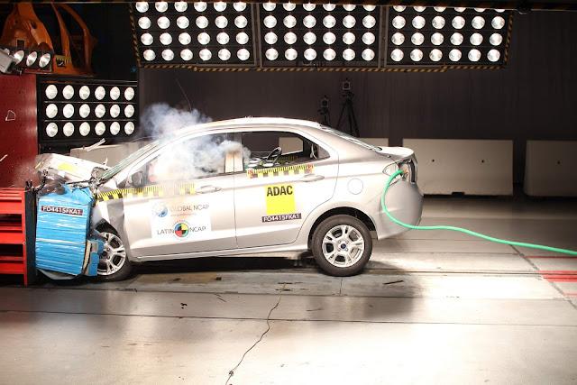 Novo Ford Ka 2018 - Segurança
