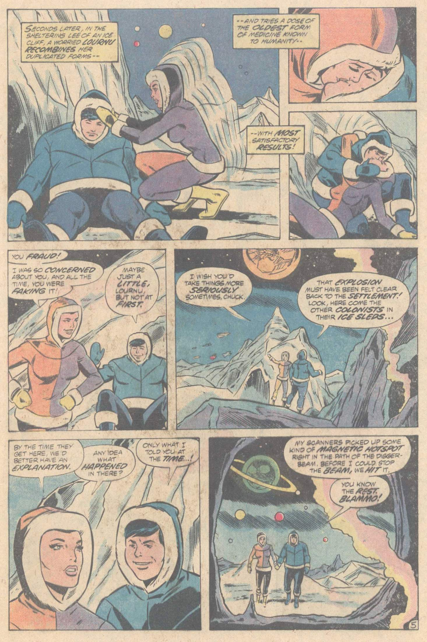 Legion of Super-Heroes (1980) 266 Page 8