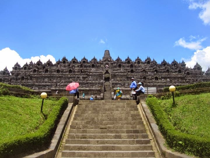 Borobudur Temple at Magelang East Java