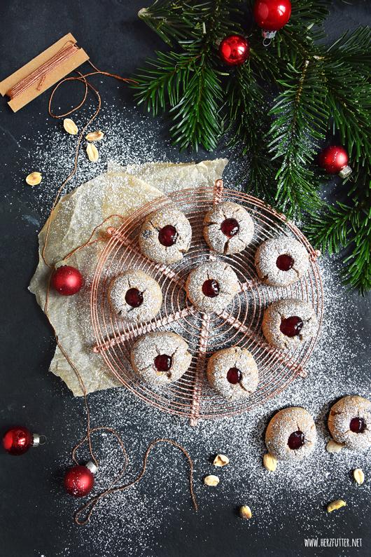 Süße Weihnachten mit Peanut-Butter-Jelly-Eyes