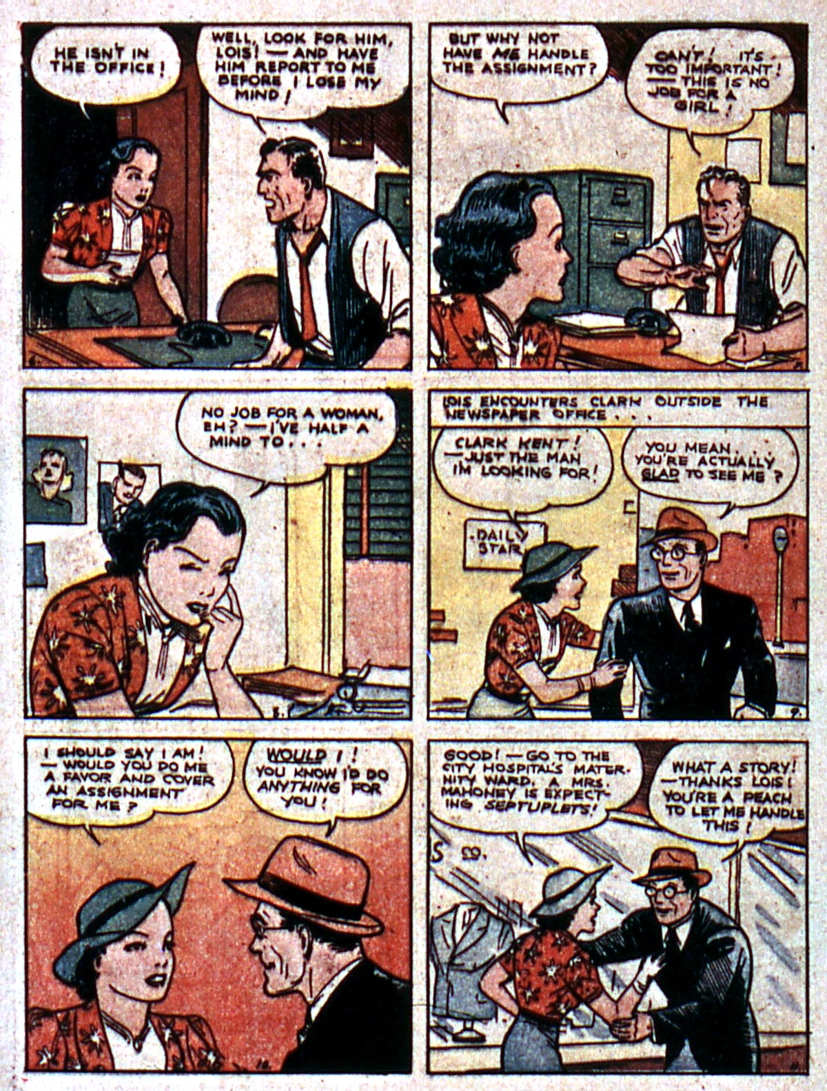 Read online Action Comics (1938) comic -  Issue #5 - 4