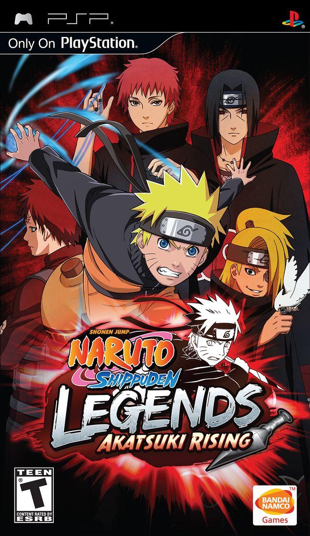 Naruto Shippuden - Legends - Akatsuki Rising - PSP - ISO Download