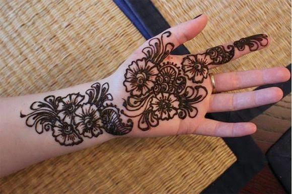 Simple Arabic Mehndi Designs Easy Arabic Henna Designs Mehndi Style
