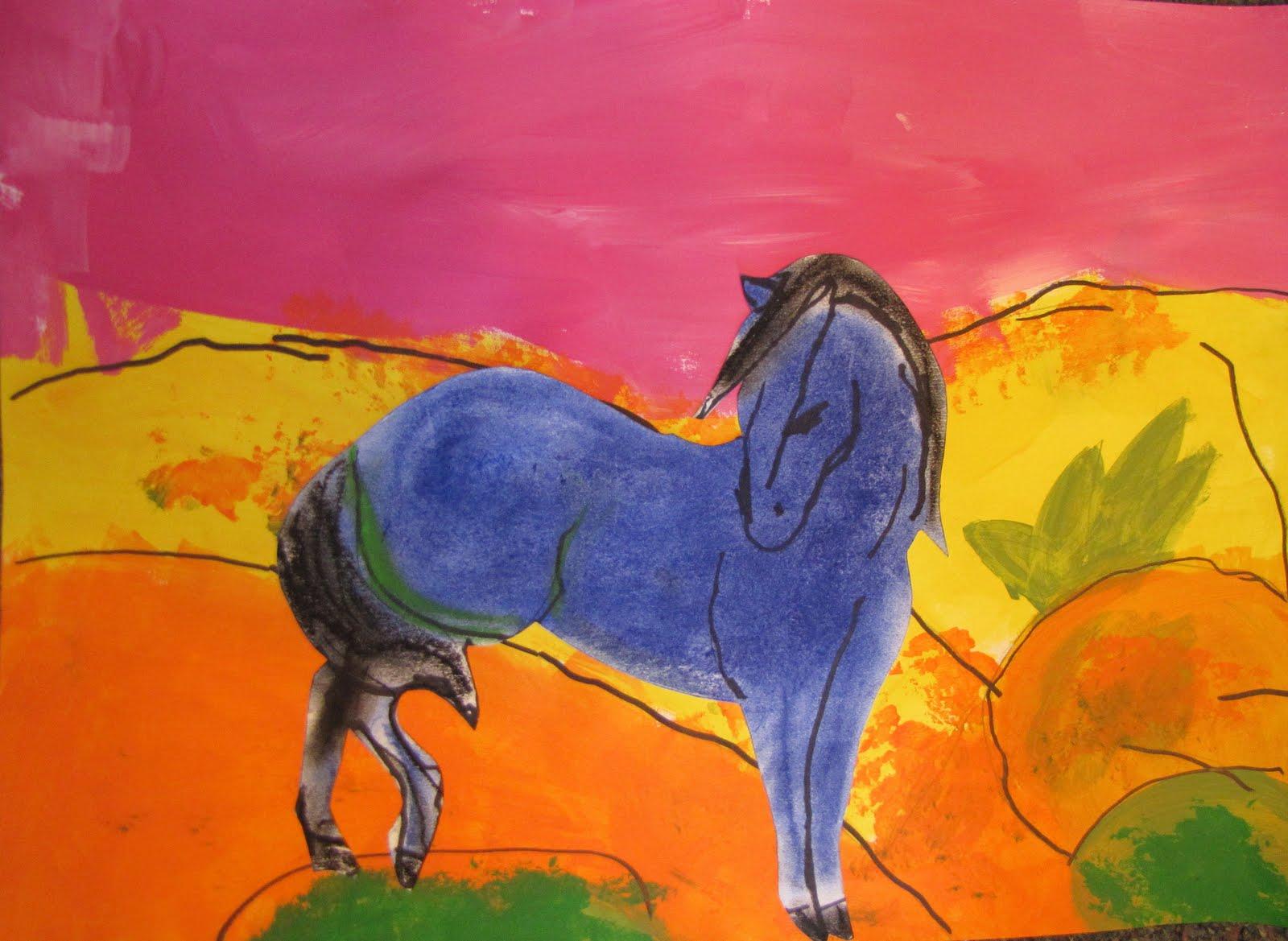 Franz Marc Horses