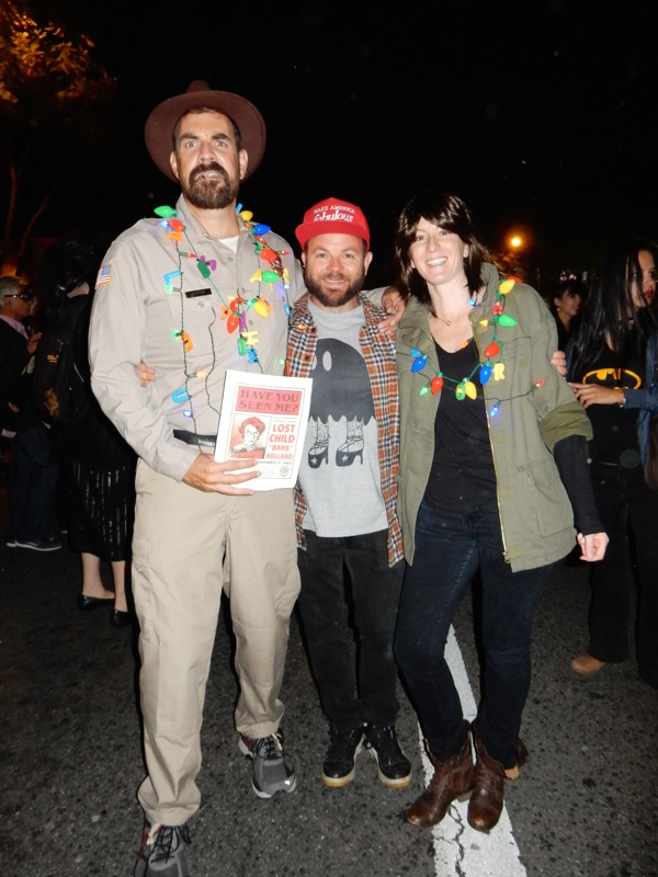 West Hollywood Halloween Stranger Things costumes