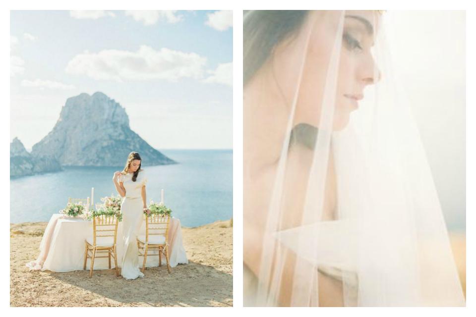 Mariage: shooting inspiration à Es Vedra