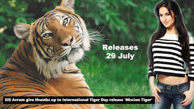 Instamag- Elli Avram give thumbs up to International Tiger Day release 'Mission Tiger'