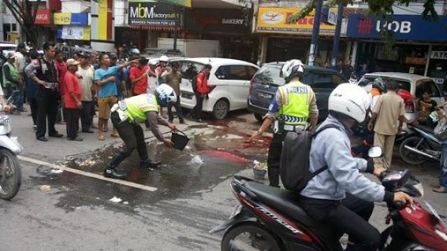 Tabrak Tiang Lisktrik, Pelajar SMP VII Rembang Tewas Di Ditempat