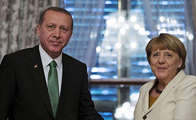 Angela Merkel in Germany that exposes accused the EU of Turkish blackmail