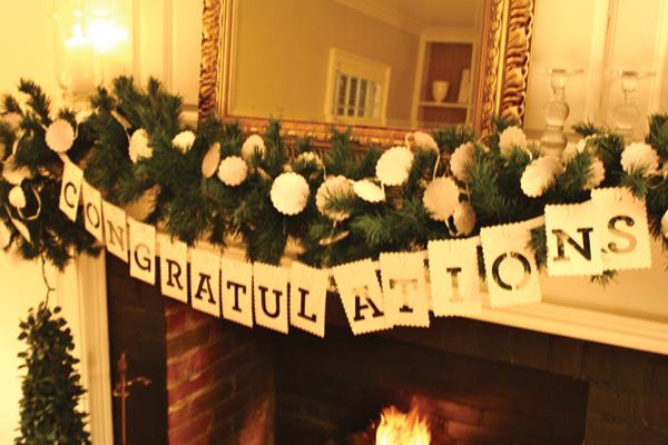 engagement party decoration ideas pictures - Isn t That Charming A Festive Engagement