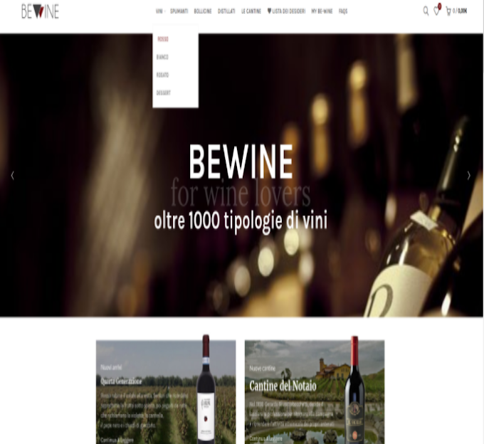 Nasce Be-Wine.com, dalla Basilicata un progetto internazionale sulla vendita e degustazione del vino