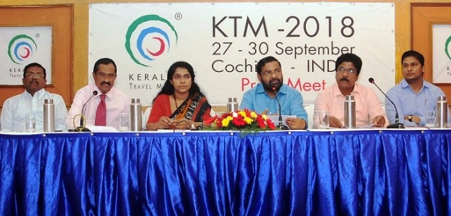 10th Edition of Kerala Travel Mart 2018 at Kochi from Sept 27-30