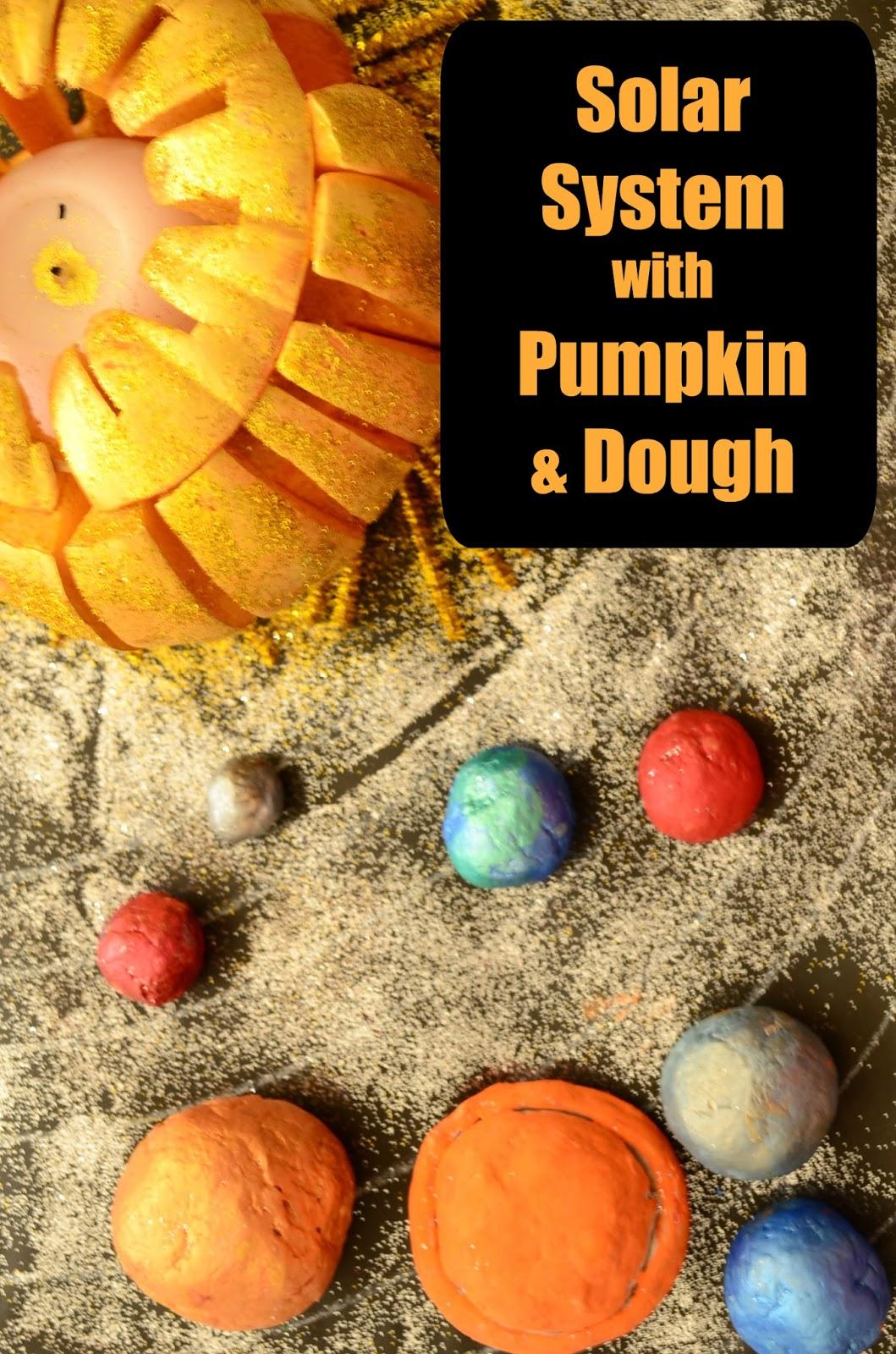 Practical Mom Pumpkin Solar System