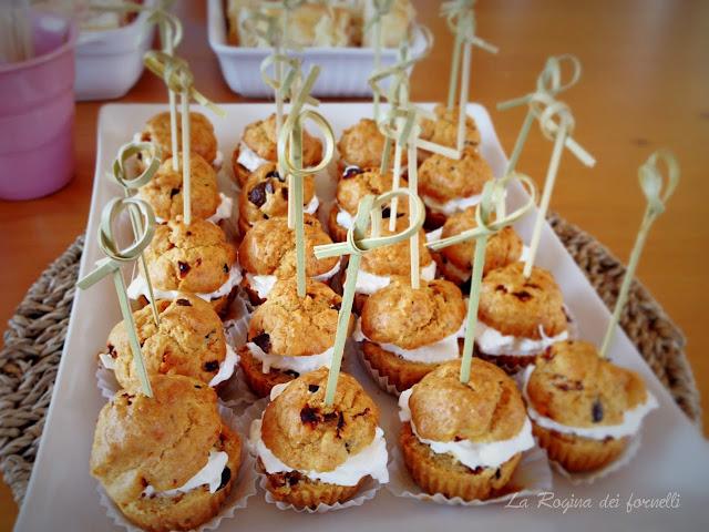 muffins salatai con olive e pomodori secchi