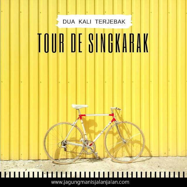 Dua Kali Terjebak Tour de Singkarak