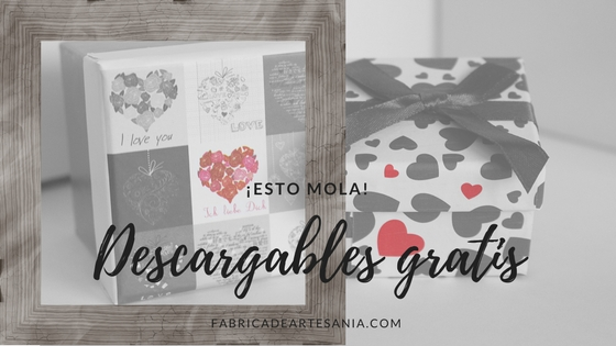 Cartel de descargables gratis