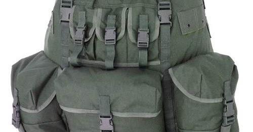 a09bc4c14 América Tático Aventura - Artigos Militares, Aventura, Esportes Radicais e  Camping.: Mochila De Combate Grande Capacidade Exército Verde - Preta