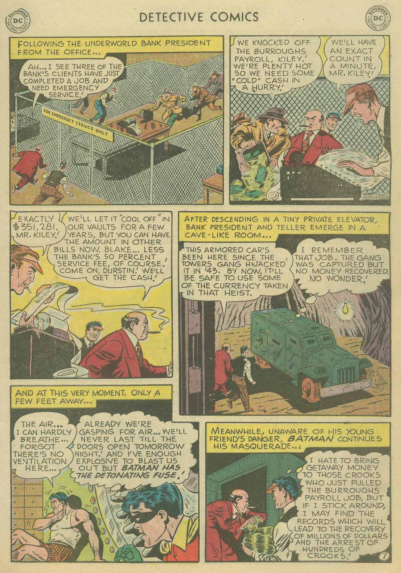 Read online Detective Comics (1937) comic -  Issue #175 - 9