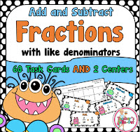 Add and Subtract Fractions using Like Denominators