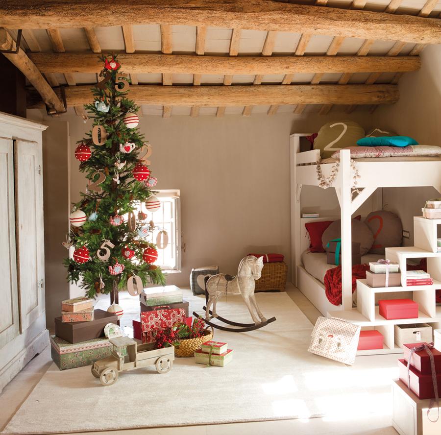 380213fe6 Cómo vestir el dormitorio para la Navidad | Decorar en familia | DEF ...