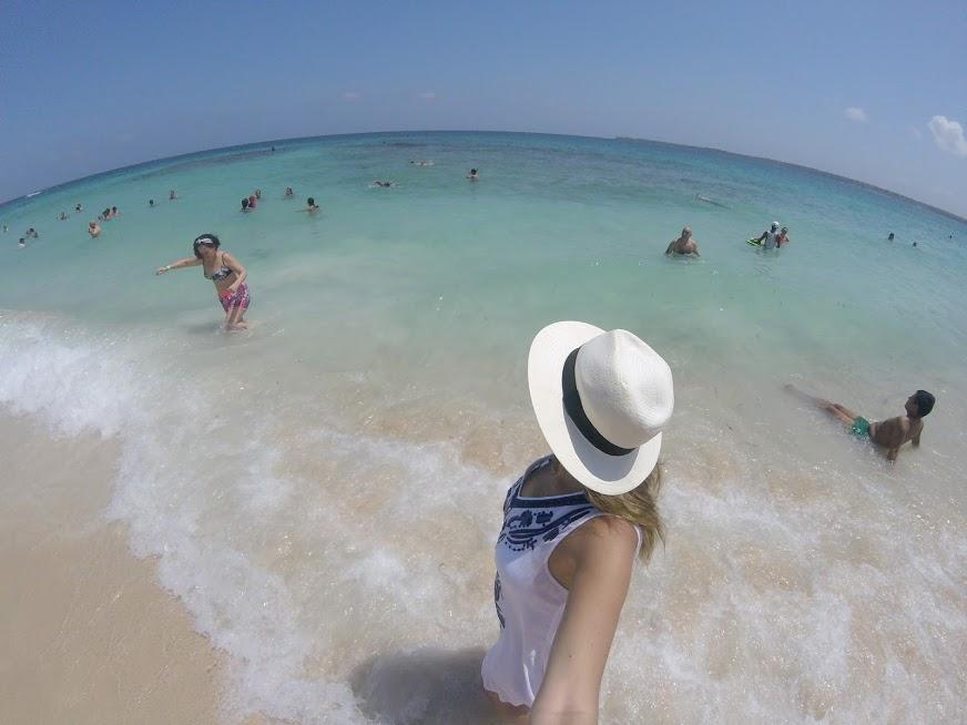 Playa Blanca, na Isla Baru - Cartagena
