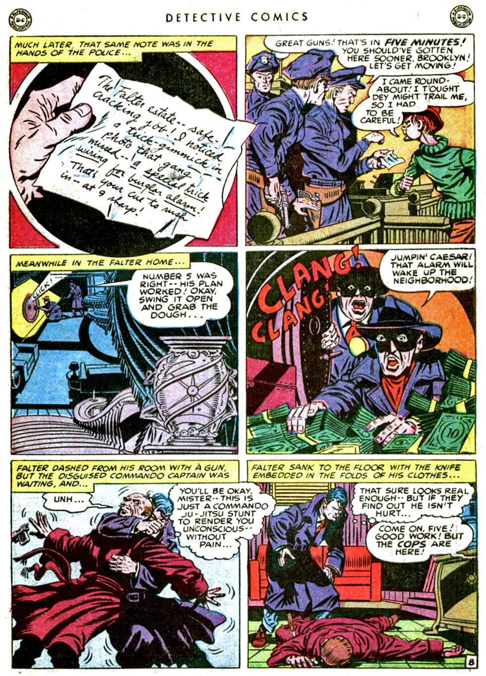 Read online Detective Comics (1937) comic -  Issue #144 - 45