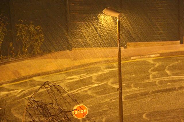 aviso amarillo por lluvia