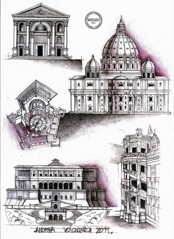 05-Renaissance-Architecture-Andrea-Voiculescu-Drawings-of-Historic-Architecture-www-designstack-co