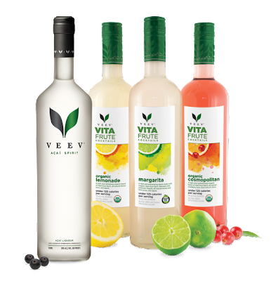 Veev Acai Spirit and VitaFrute Line