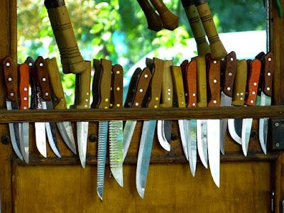 Elección de los cuchillos para nuestra cocina