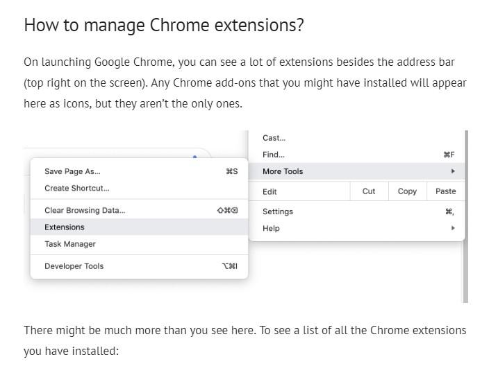 remove google chrome extension command line