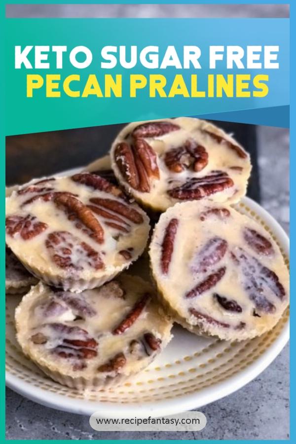 Keto Sugar Free Pecan Pralines